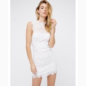 Intimately FREE PEOPLE Lace Dress White Daydream